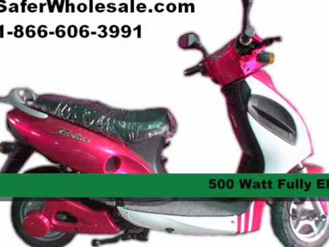 500 watt electric scooter for sale youtube. Black Bedroom Furniture Sets. Home Design Ideas