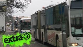 Realer Irrsinn: Doppelter Busverkehr in Gotha | extra 3 | NDR