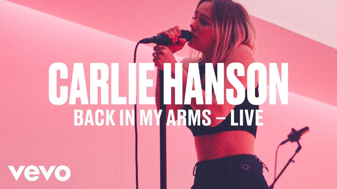Carlie Hanson — «Back In My Arms» (Live) | Vevo DSCVR