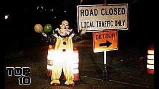 Top 10 Scary HITCHHIKING Stories