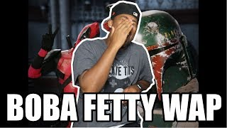 [ REACTION ] Deadpool vs Boba Fett  Epic Rap Battles of History