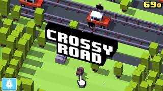 Crossy Road stupid fails