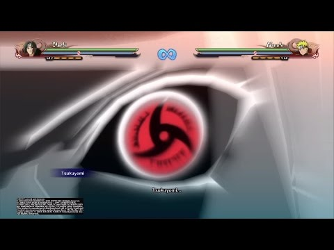 Naruto Shippuden: Ultimate Ninja Storm 4: Itachi Uchiha All Moves and Awakening!