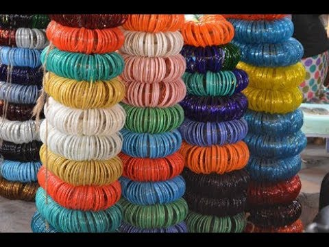 Glass bangles crafts waste bangles usage in diys waste for Craft using waste bangles