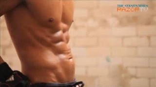 "Secret behind Lee Byung Hun's ""perfect"" six packs"