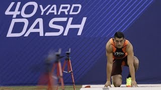 Speed thrills at 2015 NFL Scouting Combine: 40-yard dash remix