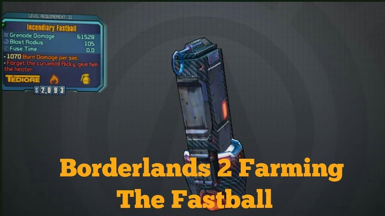 borderlands 2 explosive fastball