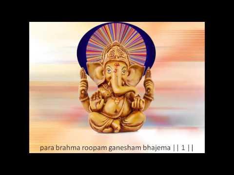Ganesh stavan stotra. by adi shankaracharya mp3