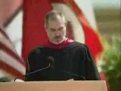 Discurso de Steve Jobs en la Universidad de Standford (parte 1)
