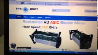 How to Setup Rockminer T1 800-900 Gh/s ASIC Bitcoin Miner