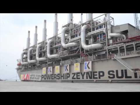Marine Vessel Power Plant from Turkey in Indonesia