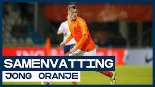 Zevenklapper voor Jong Oranje | Samenvatting Jong Wit-Rusland - Jong Oranje