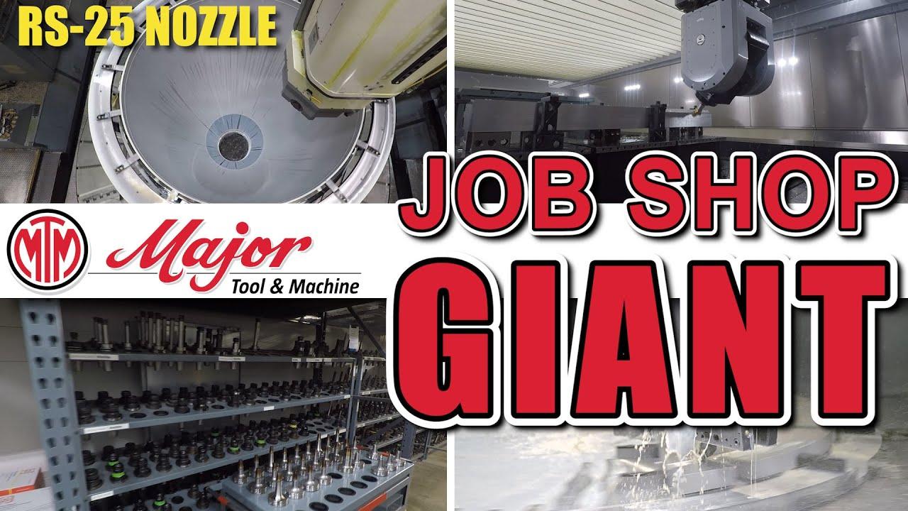 Major Tool & Machine Tour - 600,000 sq ft JOB SHOP!