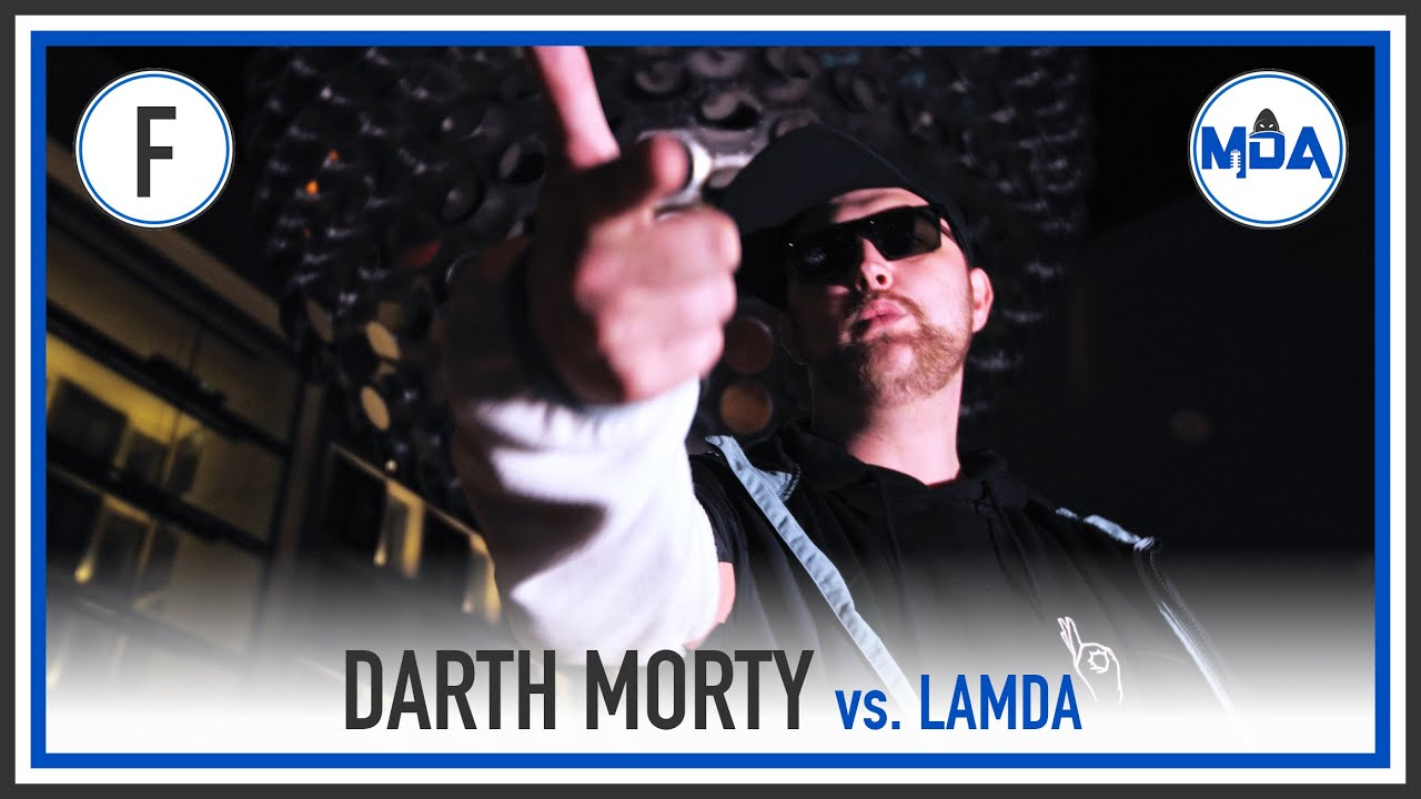 Darth Morty (Feat. Beschreibung) vs. Lamda | FINALE RR ❮MDA Rap Battle Turnier 6❯