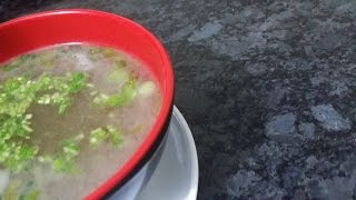 Lemon Coriander Soup/coriander Chicken Soup/lemon Chicken Soup Food Cafe