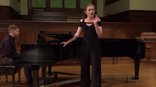 """Prendi per me sei libero"" Adina's aria from L'elisir d'amore sung by Erin O'Meally"