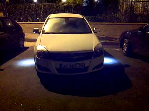 opel astra h mirror light youtube. Black Bedroom Furniture Sets. Home Design Ideas
