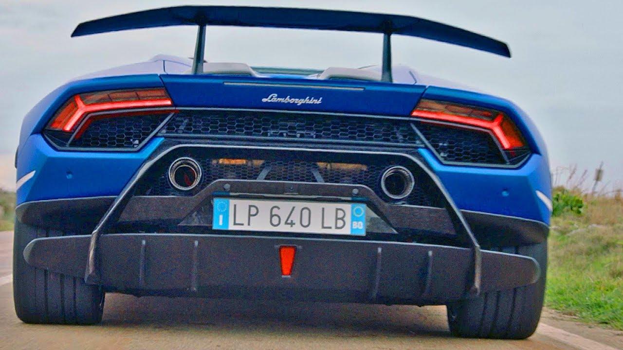 Lamborghini Huracan Performante Spyder 2019 Looks Stunning Youtube