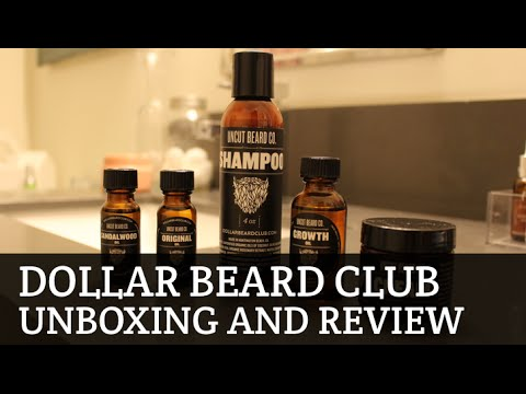 Dollar Beard Club Review and Unboxing
