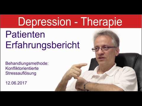 Schwere Depressionen überwinden - Patienten Erfahrung - Therapie versteckte Depression überwinden