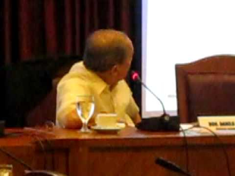 Roilo Golez asks DOTC why Romblon no part of nautical highway plan, Oversight, 6 July 2009