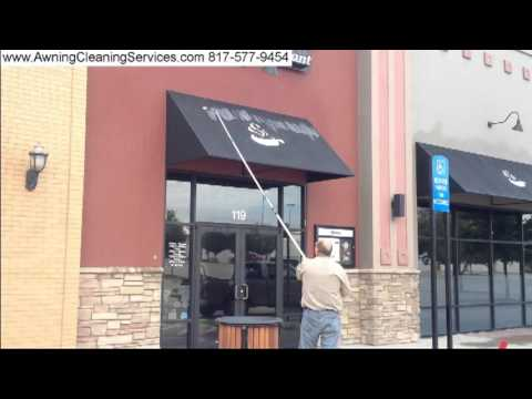 Awning Cleaning Removing Bird Poop From Awnings Dallas Fort Worth TX 817 577 9454