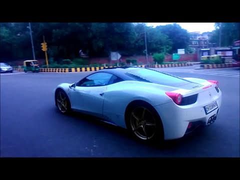Delhi Supercars / Ferrari's / compilation / 458 / f12 / 360 / spotted