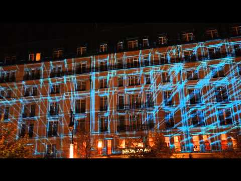 Festival Of Lights Berlin 2013 Hotel Adlon Projection Mapping