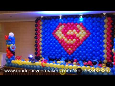 Superman Birthday Decorations