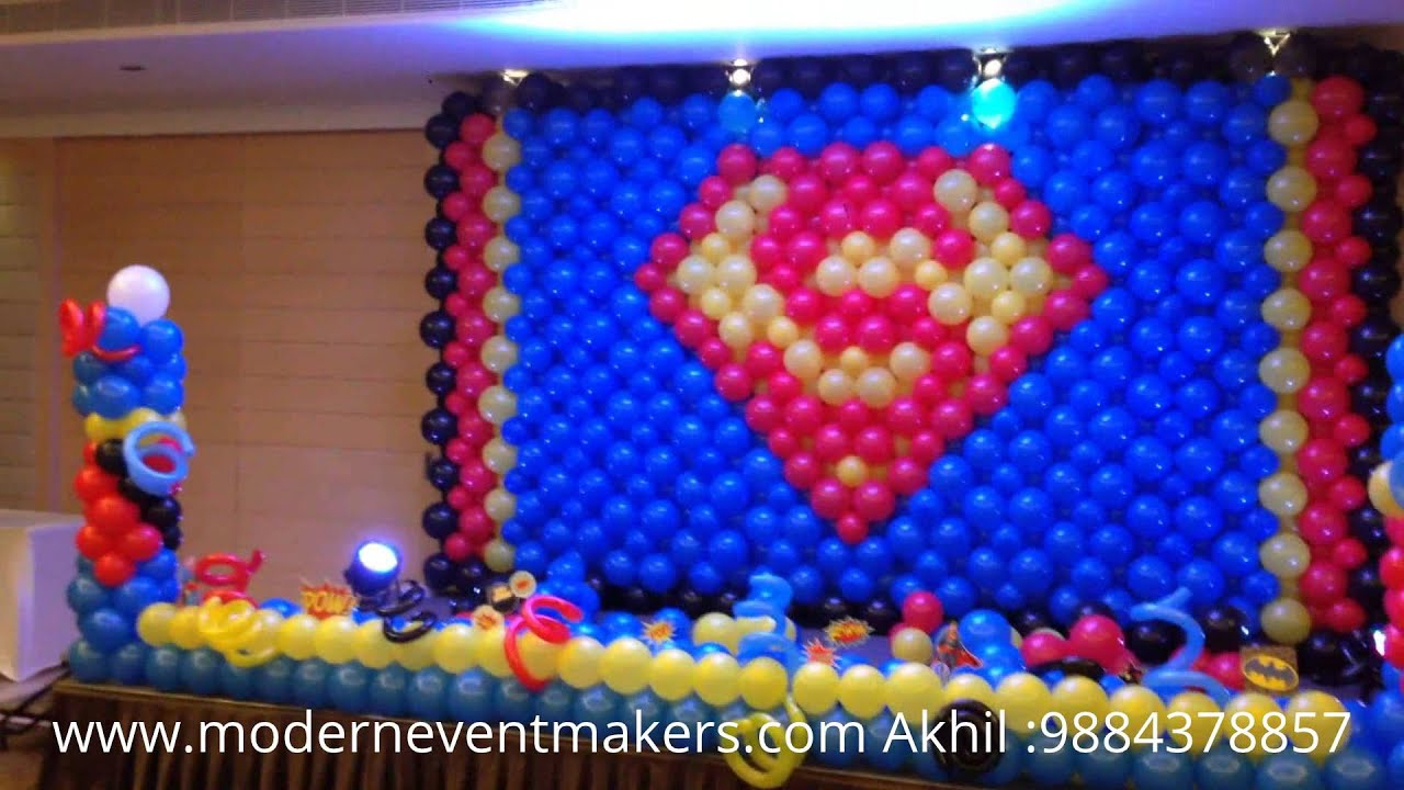superman theme Party By Moderneventmakerscom Akhil 9884378857