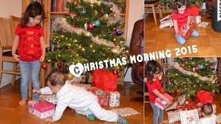 Christmas Morning 2015 Nicole and Daniel Opening Presents! Surprise TOYS.!