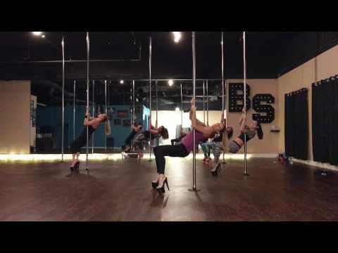 Wild Horses - Bishop Beginner Pole And Floor Dance Routine 1-10-17