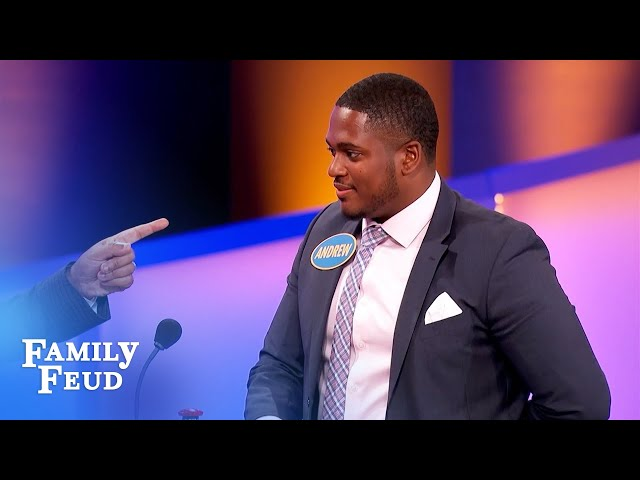 Grandpa! Keep your hands off my... WHAT??? | Family Feud
