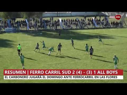 RESUMEN | Ferro Carril Sud (4) 2-1 (3) All Boys de Santa Rosa
