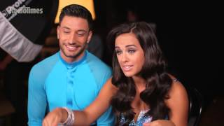 Coronation Street's Georgia May Foote and Giovanni Pernice Backstage on Strictly Come Dancing