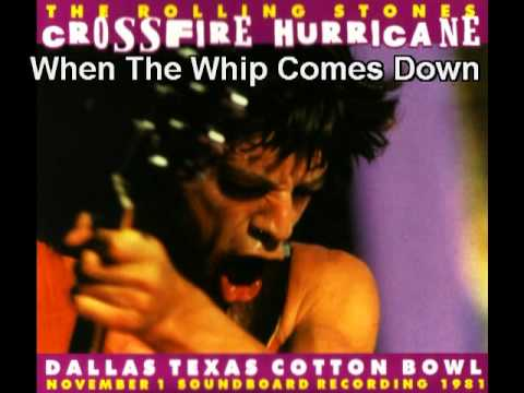 Rolling Stones Live 1981 When The Whip Comes Down Dallas Texas Cotton Bowl