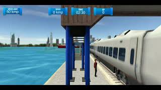 (Anomali) Water Surfer Floating Train,, mobile Android game play