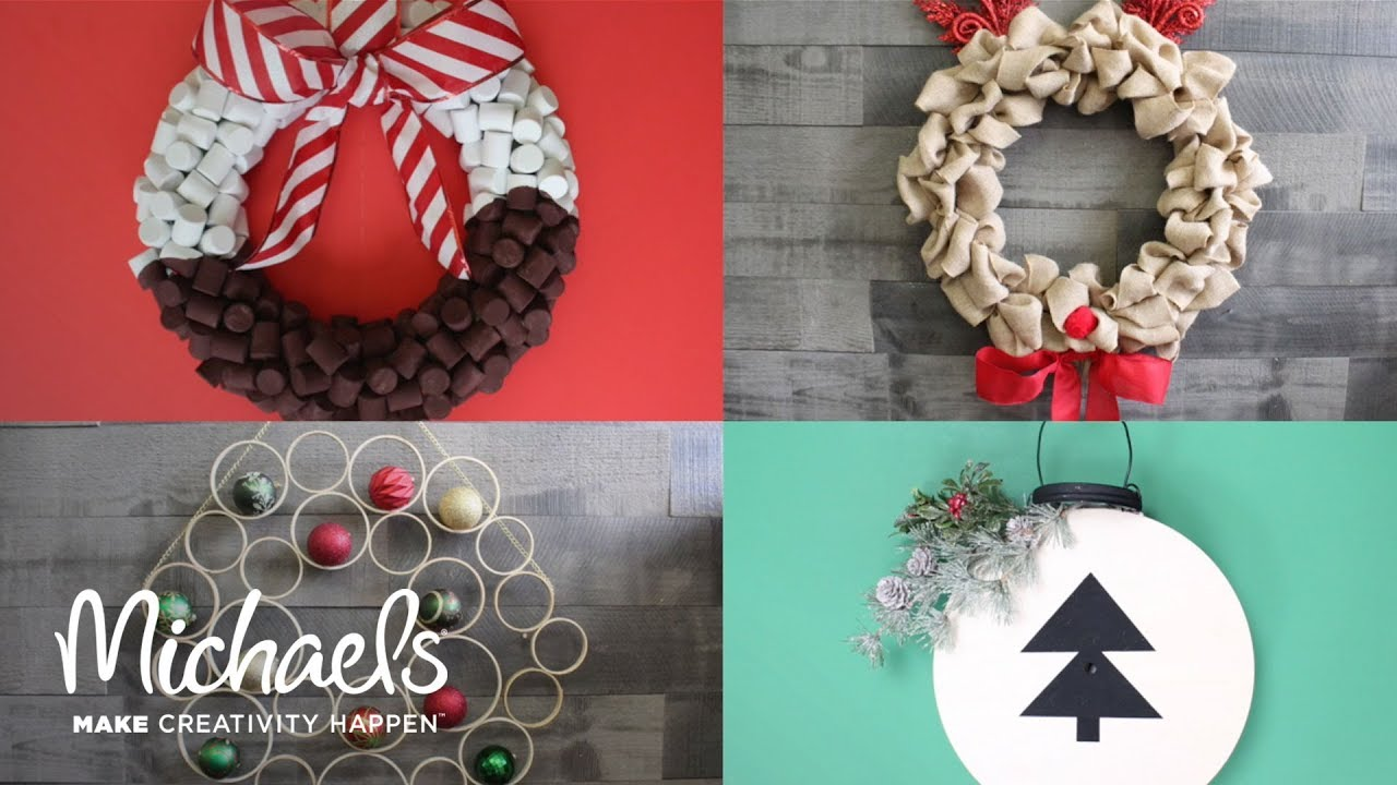 make a holiday wreath darby smart michaels - Michaels Christmas Wreaths
