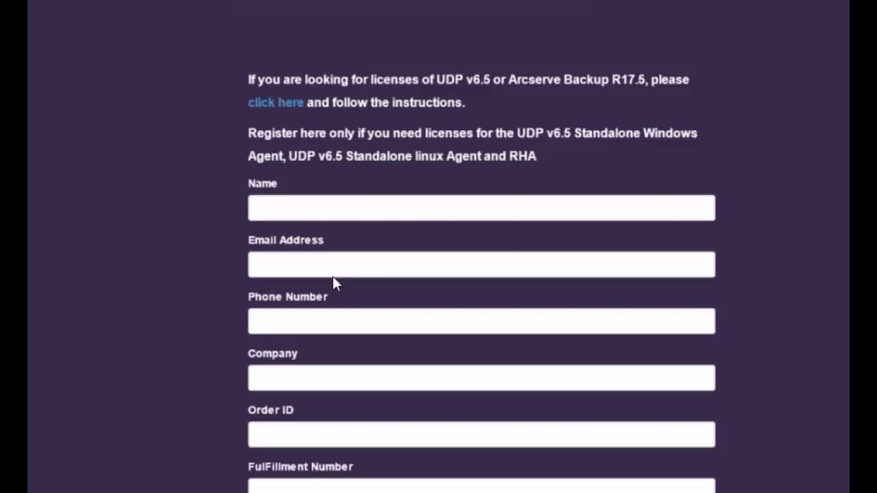 UDP 6 5 Stand Alone Agent Licensing