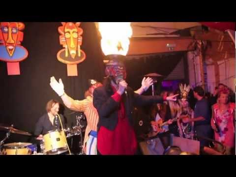 Arthur Brown performs Fire at Zu Studios March 2013