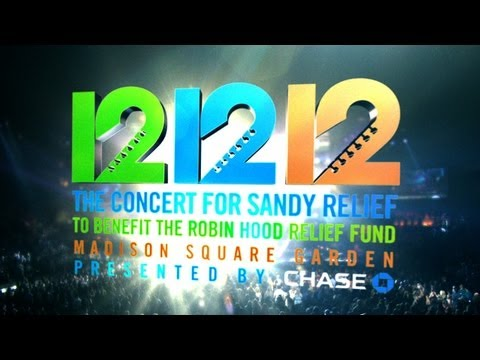 On Air Promo, 12-12-12: The Concert for Sandy Relief