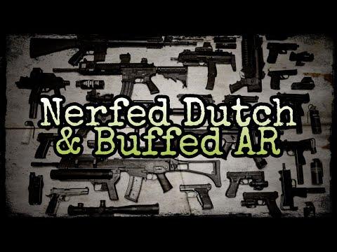 Tacticool - Nerfed Dutch U0026 Buffed AR