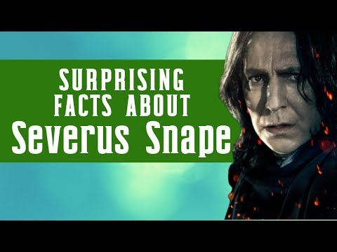 Things You Didn't Know About Severus Snape