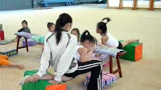 八德國小韻律體操隊-靖芫壓筋