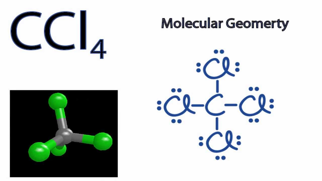 CCl4 Molecular Geometry  Shape and Bond Angles  YouTube