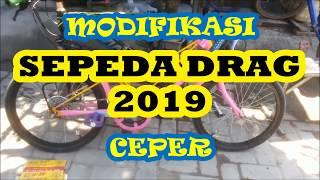 Modifikasi Sepeda Ceper Di Gemari Anak Anak Youtube
