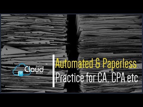 Automation & Paperless Practice for CA, CPA etc..