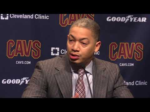 Tyronn Lue wins 100th game as Cleveland Cavaliers coach, players celebrate with postgame popcorn party