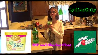 Download HOW TO MAKE A 7UP AND SHERBET FLOAT | LydiasOnly MP3 song and Music Video