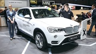 BMW X3 Facelift - Genf 2014